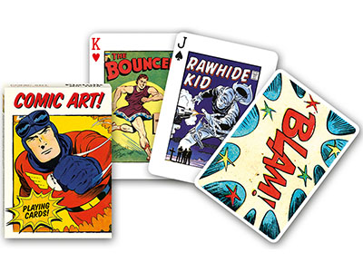 VINTAGE COMIC ART POKER