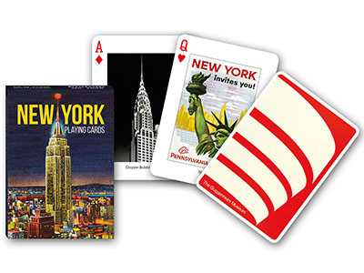 NEW YORK POKER playing cards