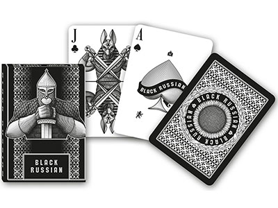 BLACK RUSSIAN SINGLE DECK