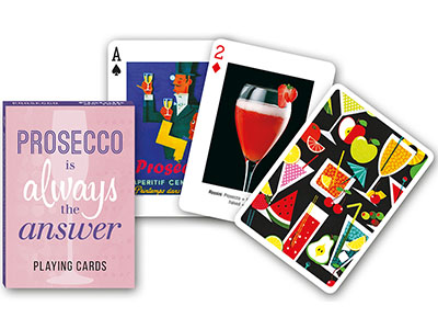 PROSECCO PLAYING CARDS