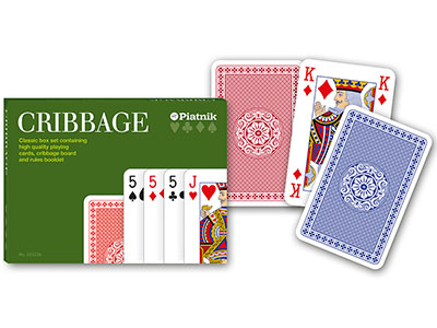 CRIBBAGE SET - CLASSIC BOX