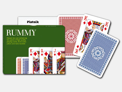 RUMMY SET - CLASSIC BOX