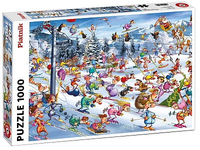 RUYER, HOLIDAY SKIING 1000pc