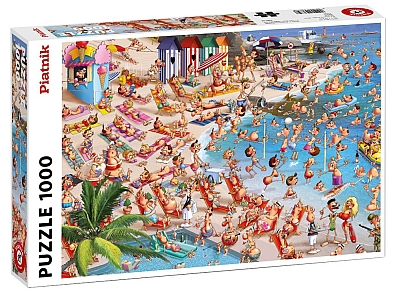 RUYER, BEACH DAY 1000pc