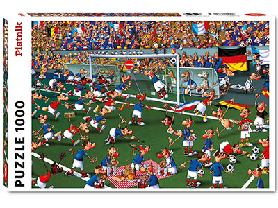 RUYER, SOCCER 1000pc
