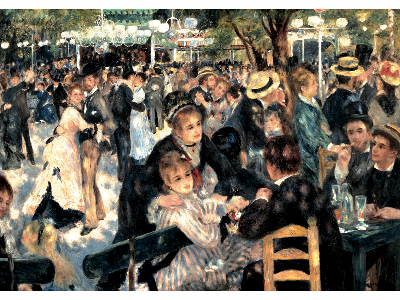 RENOIR, DANCE LE MOULIN 1000pc