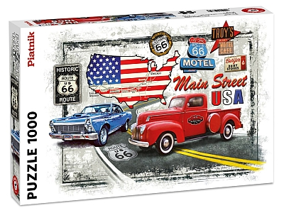 OLD ROUTE 66 1000pc