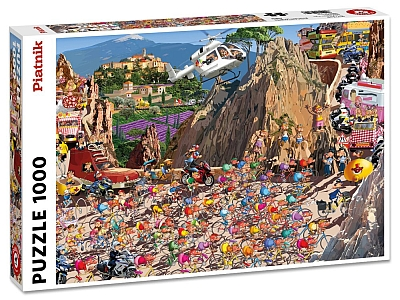 RUYER, CYCLE RACE 1000pc