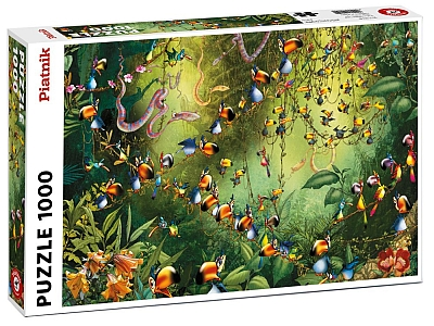 RUYER, JUNGLE TOUCANS 1000pc