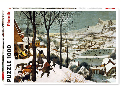 BRUEGEL, HUNTERS IN SNOW 1000p