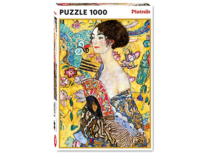 KLIMT, LADY WITH A FAN 1000pc