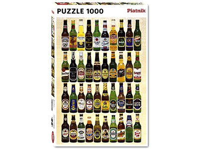 BEERS OF THE WORLD 1000pc