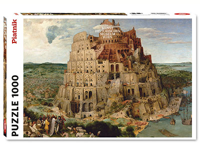 BRUEGEL, TOWER OF BABEL 1000pc
