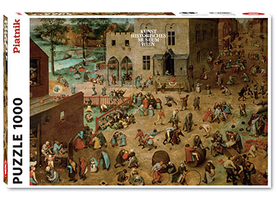 BRUEGEL,CHILDRENS GAMES 1000pc
