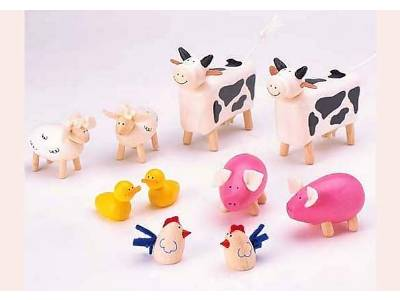 FARM ANIMALS - Set of 10