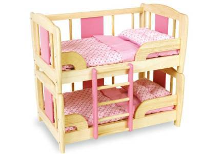 DOLL'S BUNK BED