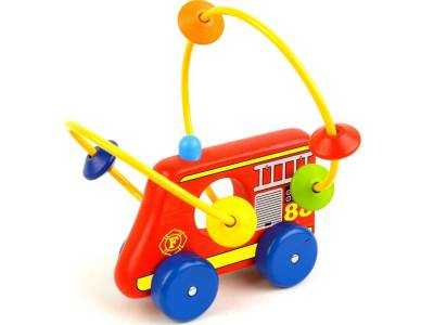 FIRE ENGINE ROLLER (Disp.of 4)