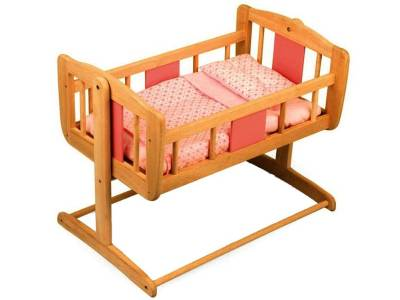 DOLL'S SWINGING CRIB