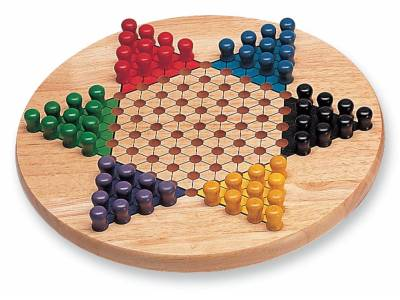 CHINESE CHECKERS 29CM WOOD