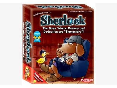 SHERLOCK CARD GAME(PLAYROOM)