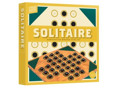 WOOD GAMES WORKSHOP SOLITAIRE