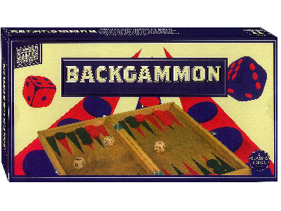 WOOD GAMES W/SHOP BACKGAMMON
