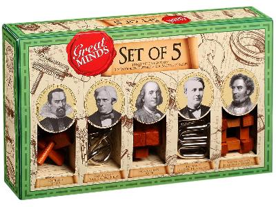GREAT MINDS SET OF 5 (MEN)