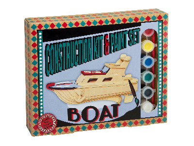 CONSTRUCTION & PAINT BOAT
