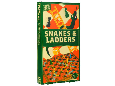 WOOD GAMES W/SHOP SNAKES LADDR