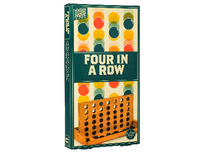 WOOD GAMES W/SHOP FOUR IN ROW