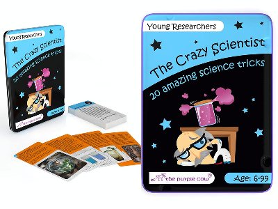 CRAZY SCIENT. YOUNG RESEARCHER