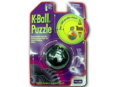 K-BALL 3-D TURN PUZZLE