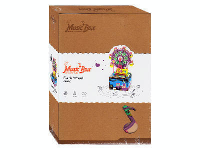 FERRIS WHEEL MUSIC BOX 3D PUZZ