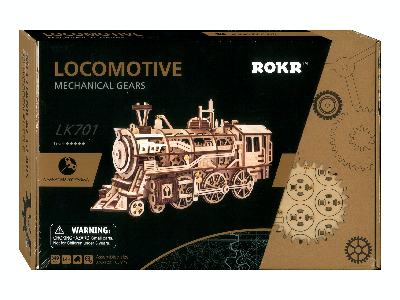 MECHANICAL GEARS LOCOMOTIVE