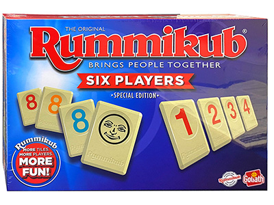 RUMMIKUB XP SIX-PLAYER