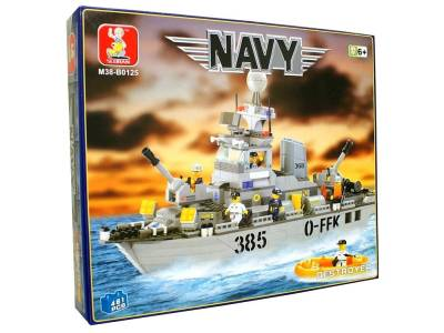 NAVY DESTROYER 461pcs