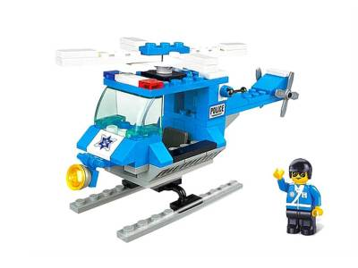 CITY SCENE POLICE HELICOPTER