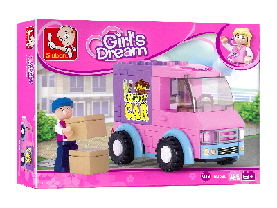 GIRL'S DELIVERY CAR