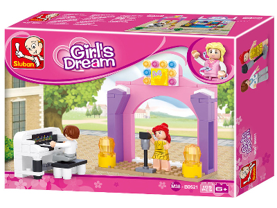 GIRLS DREAM PIANO SOLO 109pcs