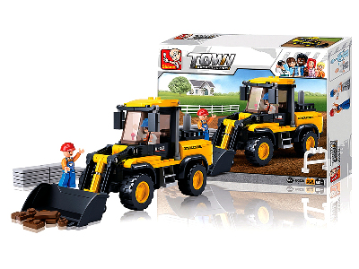 FARM BULLDOZER 212pcs