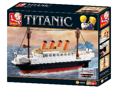 TITANIC SMALL 194pcs
