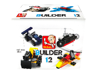 BUILDER 12 MIXED DESIGNS