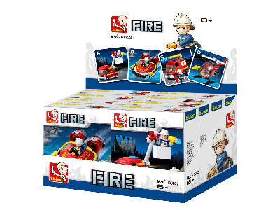 FIRE VEHICLES (8) DISPLAY