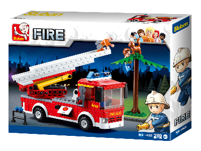FIRE TRUCK 269 pieces