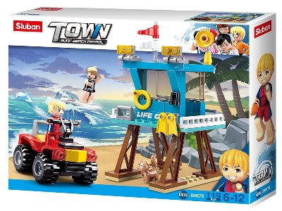 TOWN SURF BEACH LIFE GUARD TWR