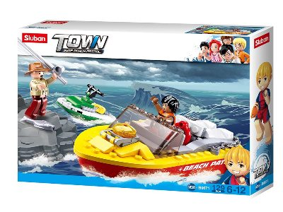 TOWN SURF BEACH RESCUE BOAT