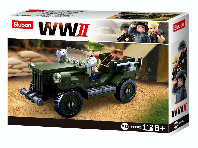 WW2 GAZ 67 FIELD CAR 112pc