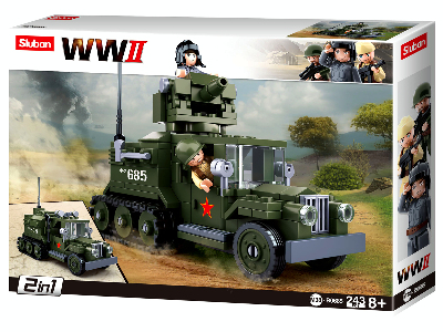 WW2 SOVIET HALFTRACK 2in1 KIT