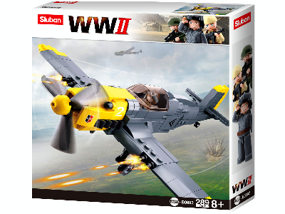 WW2 MESSERSCHMITT BF-109 289pc