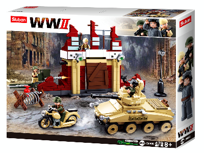 WW2 BATTLE OF STALINGRAD 479pc